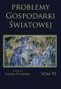 Cover for Problemy Gospodarki Światowej