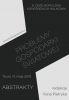 """Cover for 9. Ogólnopolska Konferencja Naukowa """"Problemy gospodarki światowej"""""""