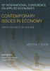 Cover for 10th International Conference on Applied Economics Contemporary Issues in Economy