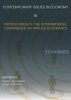 Cover for Contemporary Issues in Economy. Proceedings of the International Conference on Applied Economics: Economics