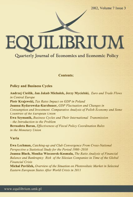 Tax Rates Impact on GDP in Poland | Equilibrium  Quarterly Journal